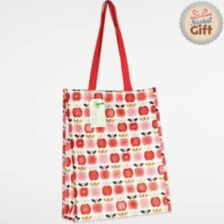 Sac shopping au motif Pomme vintage