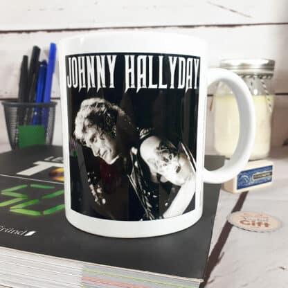 Mug Johnny Hallyday en concert