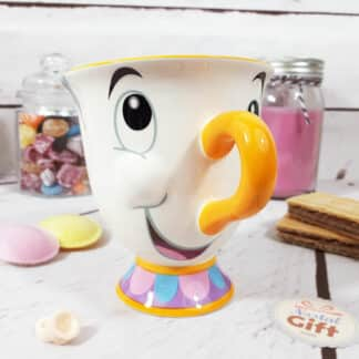 Mug Disney la Belle et la Bête en forme de Zip