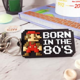 Porte-clé Super Mario Bros - Born in the 80's
