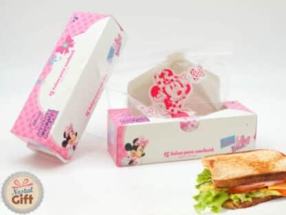 Sac à goûter Disney - Minnie (lot de 15 sacs)