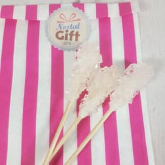 Bâton de sucre cristallisé x3