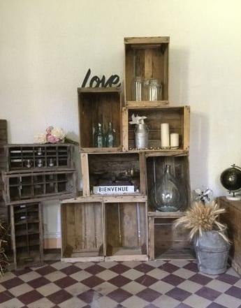 7 id es d objets r tro ajouter dans votre d coration de mariage. Black Bedroom Furniture Sets. Home Design Ideas