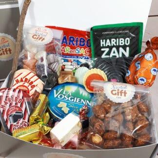 Boîte bonbons des années 60
