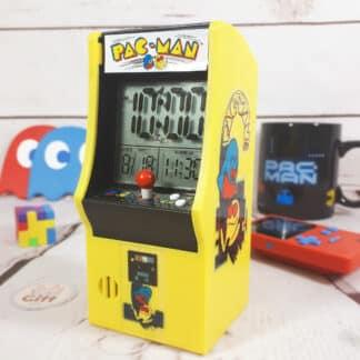 Réveil Pac Man inspiré d'une machine d'arcade