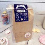 """Coffret cadeau : Boîte de bonbon maîtresse  """"Merci pour cette année maîtresse"""""""