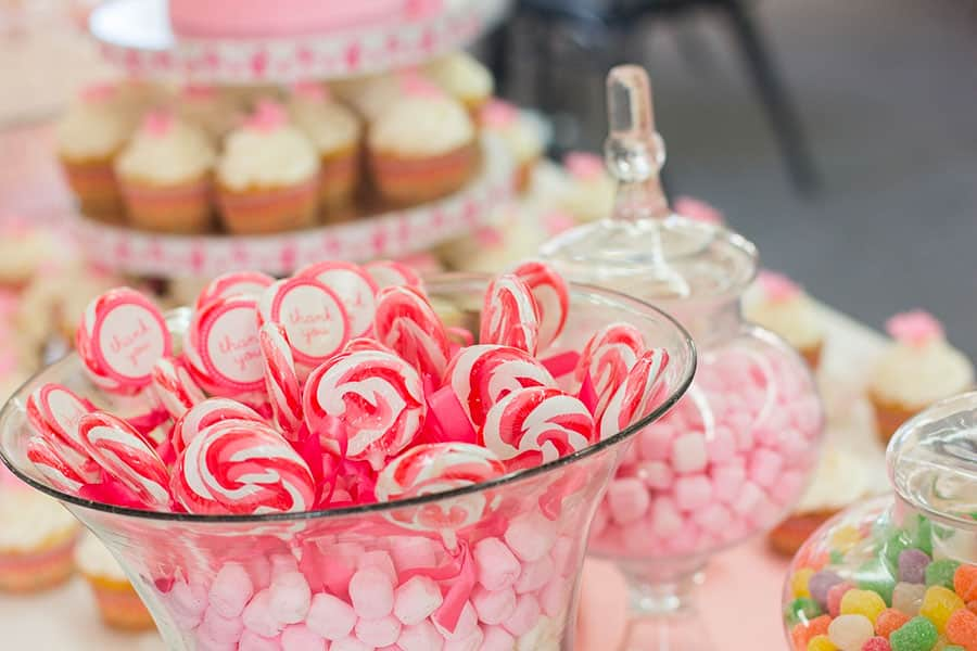 candy bar sucettes