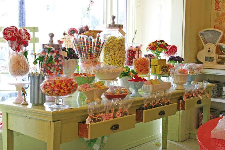 Conseils Et Idées Pour Organiser Votre Candy Bar Rétro