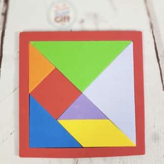 Tangram - Puzzle en mousse géométrique