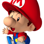 tête mario junior