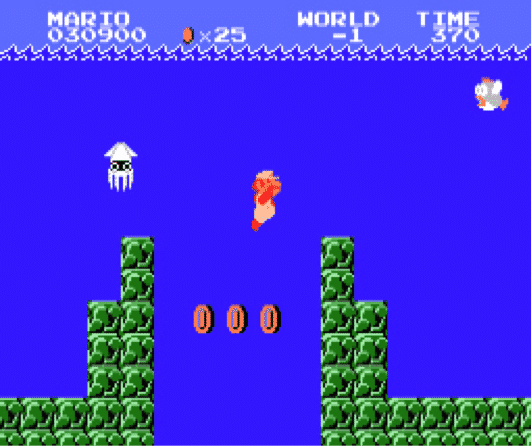 monde aquatique super mario bros
