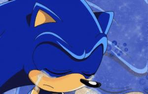 Sonic qui pleure