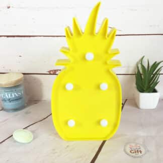 Lampe décorative LED Ananas