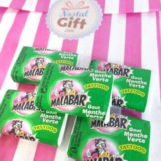 Chewing-gum Malabar (menthe verte) x5