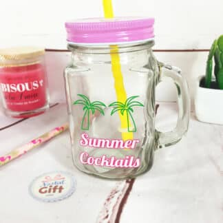 "Mason jar ""Retro Summer"""