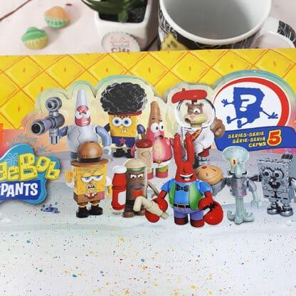 Pochette surprise Bob l'éponge - Figurines Mega Bloks à collectionner