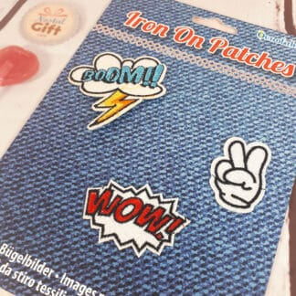 """Patches Thermocollants - """"WOW"""""""