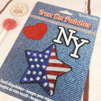 Patches Thermocollants - New York