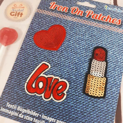 Patches Thermocollants - Love