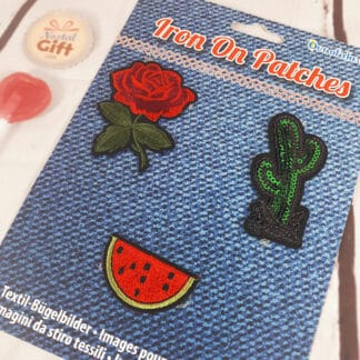 Patches Thermocollants - Rose