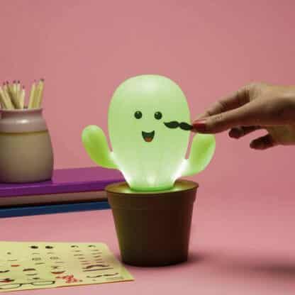 Lampe cactus personnalisable