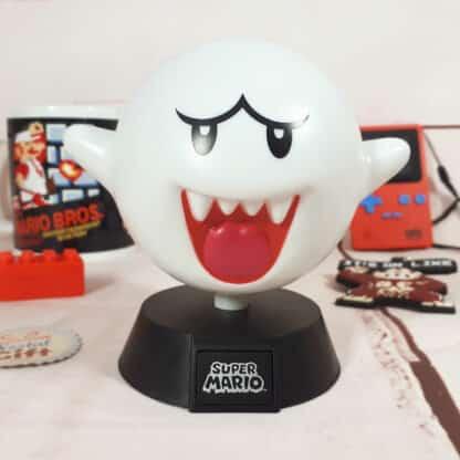 Lampe veilleuse Mario Bros - Boo