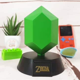 Lampe veilleuse The Legend of Zelda - Rubis vert symbole Triforce