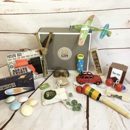 Jouet Petit Garçon - Coffret cadeau de jouets traditionnels