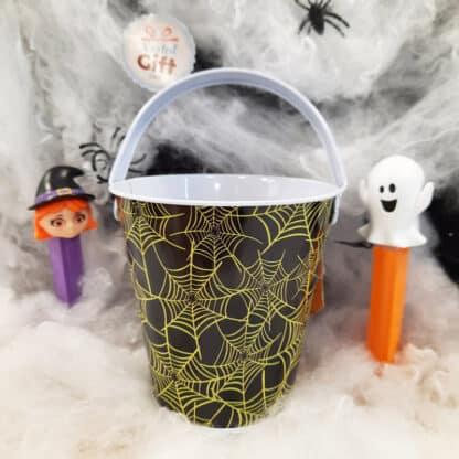 Petit seau à remplir pour bonbons Halloween