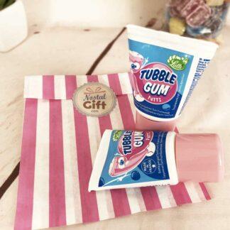 Tubble gum - Chewing gum en tube - Tutti frutti x2 - Chewing gum Léo
