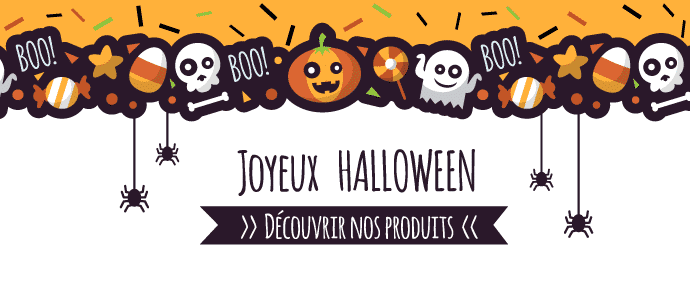 bonbons jouets halloween