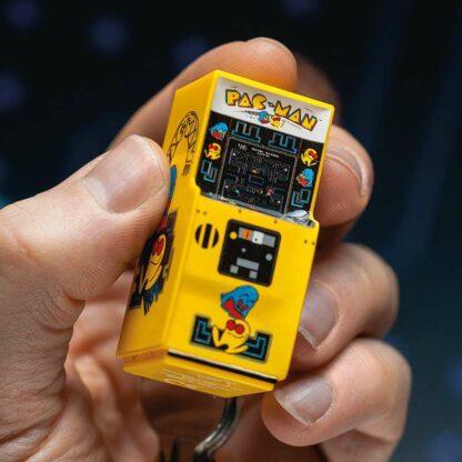 Porte clés Pac Man machine d'arcade