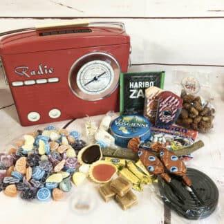 Coffret bonbon ancien - Transistor rétro