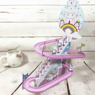 Circuit de licornes avec escalier mécanique