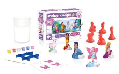 Mako moulages - Mes fées - 5 moules