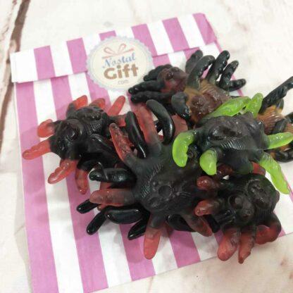 Bonbons Araignées Tarentules gélifiées x10