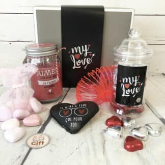Chocolat Saint Valentin : Yes & love