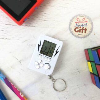 Porte clés mini console rétro - 23 mini jeux de briques