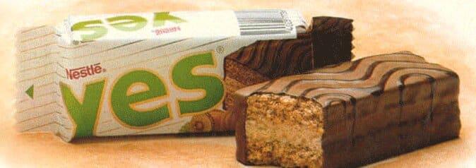 yes noisette de Nestlé