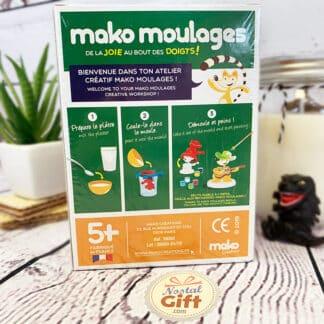 Mako moulages Le MONDE des DINOSAURES - Tricératops - 1 moule