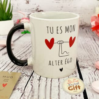"Mug ""J'aime tes parfaites imperfections"" - Idée Cadeau Saint Valentin"