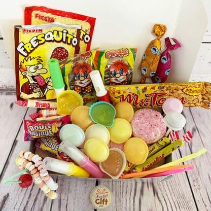 """Coffret Bonbons Papa - """"Pour le meilleur des papas"""" : coffret cadeau des années 80,70 ou 60"""
