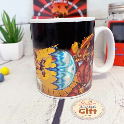 Mug Street Fighter Thermoréactif - Fight/KO 400ml