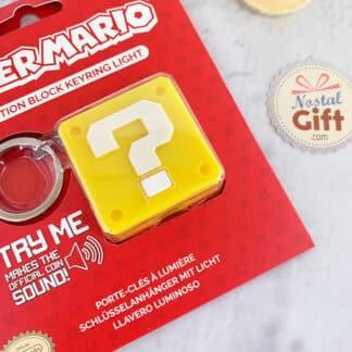 Mario - Porte clés lumineux avec bruit