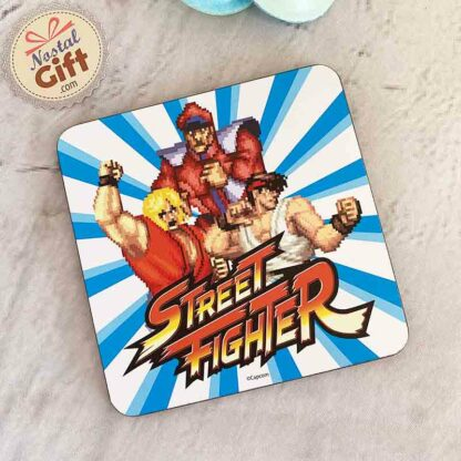 Street Fighter - Sous de verre X1