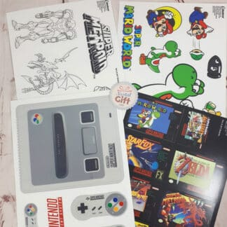 15 Stickers Nintendo - Super Nintendo (SNES)