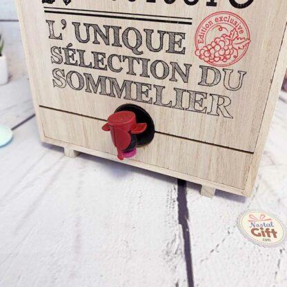 """Distributeur de Vin """"Le caviste"""" - 3-5 Litres - Idee cadeau homme"""