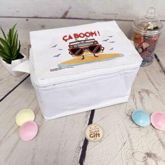 """Sac de déjeuner isotherme Boombox - """"Ça Boom"""""""