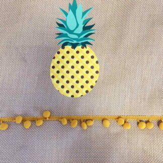 """Sac cabas """"Ananas"""" Tressé"""