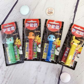 Pez Pokémon : Pikachu, Carapuce, Bulbizarre, Salamèche